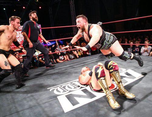 Wrestling in der Reithalle am 08.06.