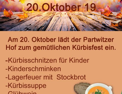 Kürbisfest am 20.10.2019